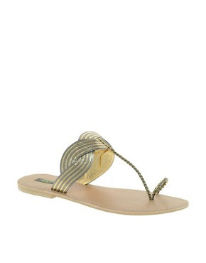 Image 1 ofPark Lane Toe Post Sandal