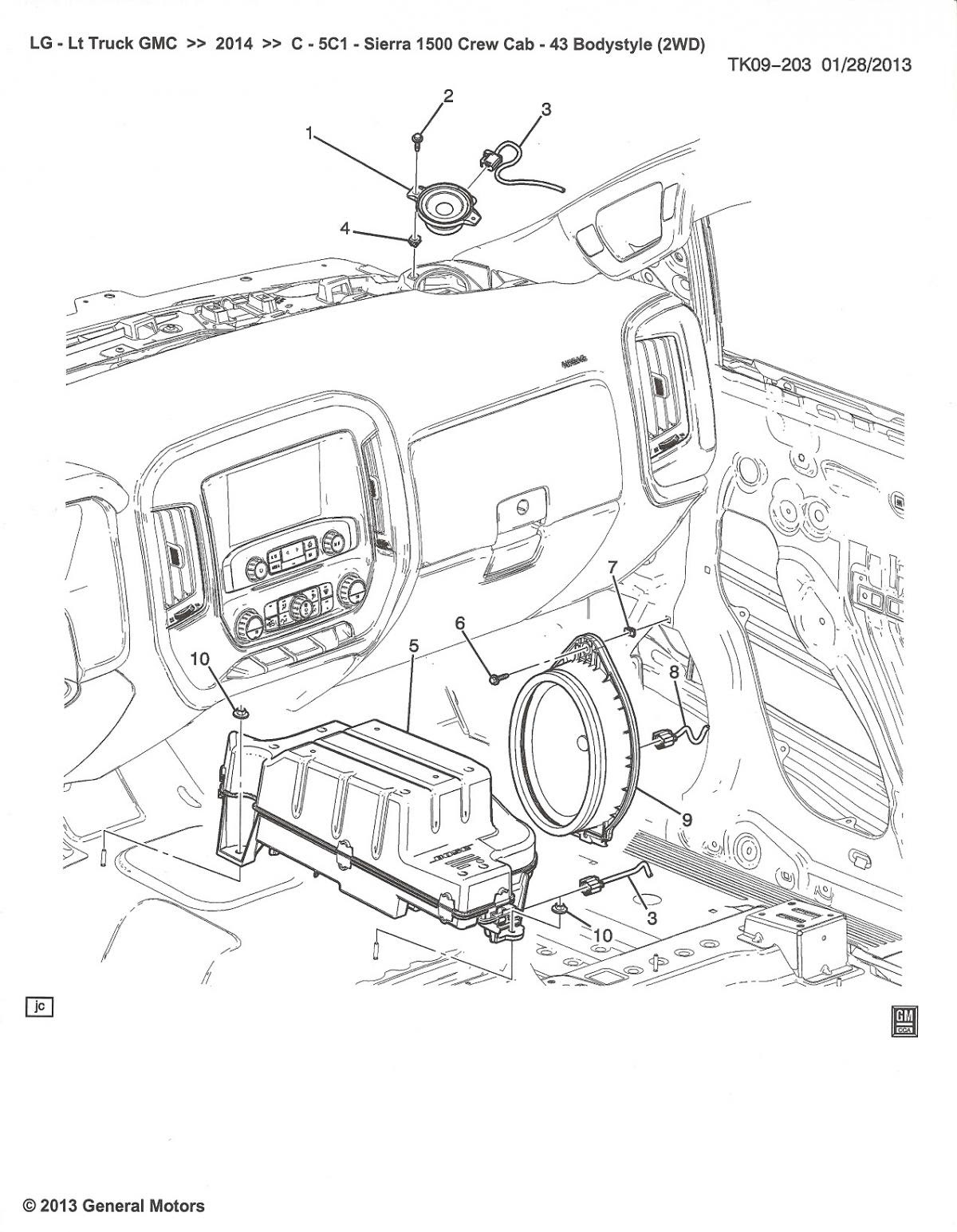 2014 silverado bose speaker wiring diagram 33 2014 silverado radio wiring diagram wiring diagram list  33 2014 silverado radio wiring diagram