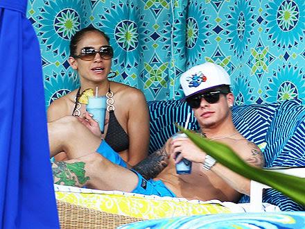 Jennifer Lopez and Casper Smart's Tropical Thanksgiving | Jennifer Lopez