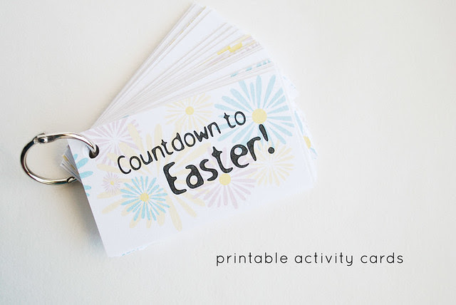 Countdown Cards