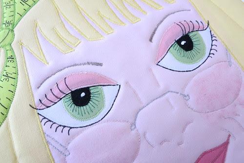 Sandi's pretty eyes