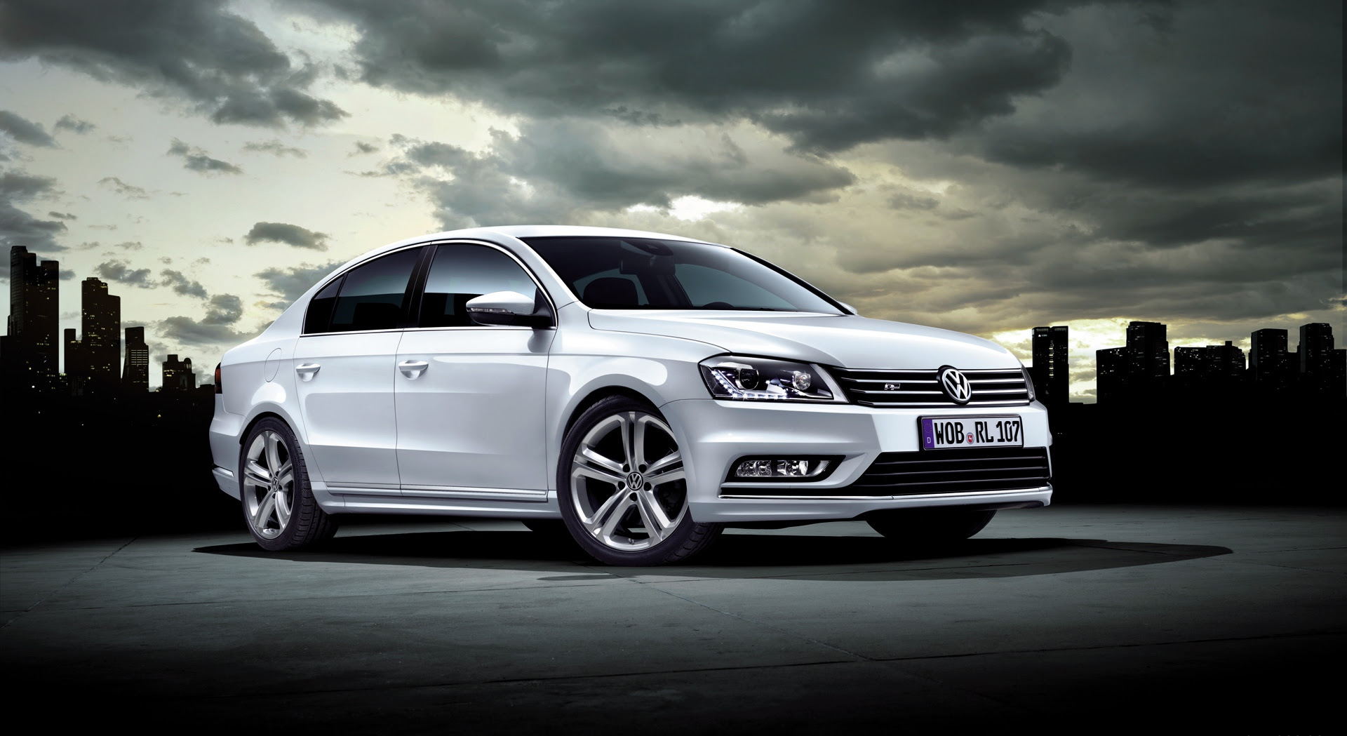 volkswagen passat r line  HD Desktop Wallpapers  4k HD
