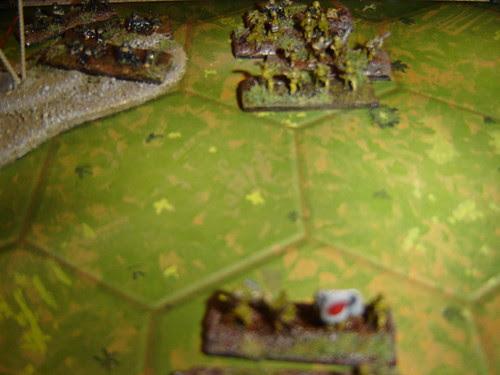 Americans defend jungle line against Japanese infantry assault - Battle for Middle Village