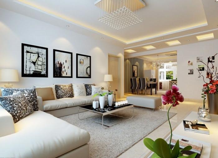 30 Wohnzimmereinrichtung Beispiele mit Charme!