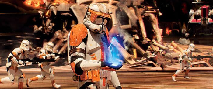 Darth Sidious tells Commander Cody to execute Order 66... The destruction of all Jedi.
