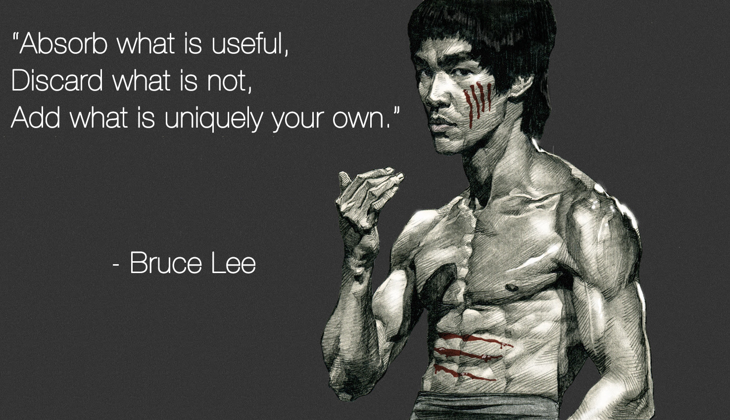Absorb What Is Useful Bruce Lee Live By Quotes