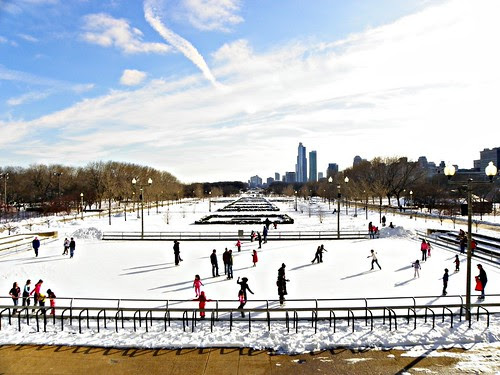 Tennis Court - Chicago Millenium Park