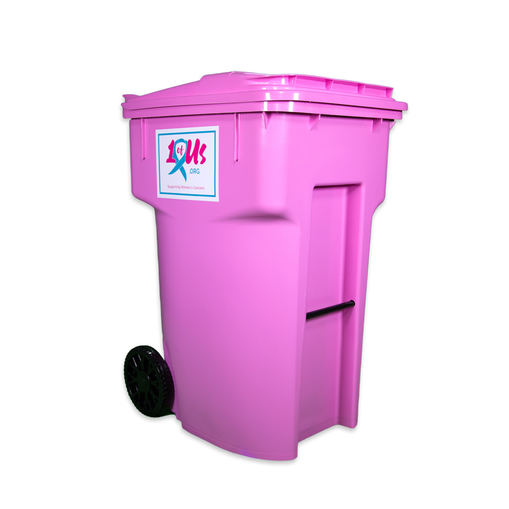 Pink Trashcan Local Delivery Or Pickup Only 1 Of Us