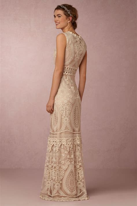 'Roane' Embroidered Bridal Gown   Chic Vintage Brides