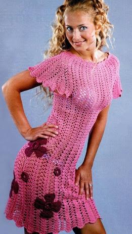 Cómo atar vestido de crochet