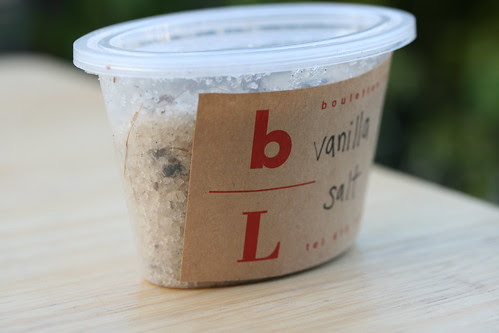 Really expensive Vanilla Salt from Boulette's Larder, Ferry Building, San Francisco