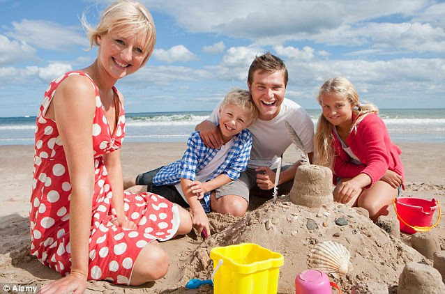The death of the two-week family holiday: British now opt ...