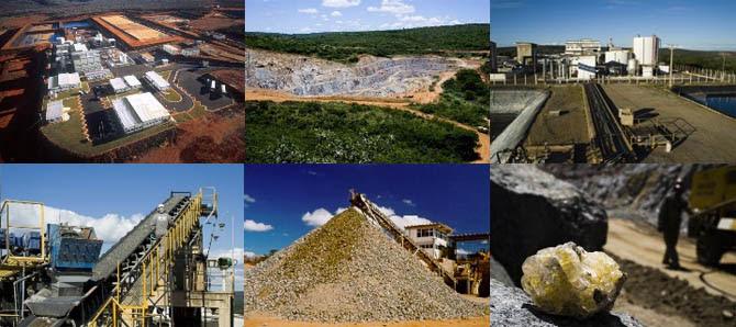 Resultado de imagem para Extração do Urânio em Caetitê na Bahia