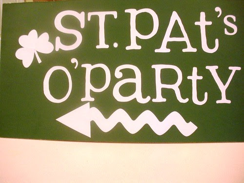 DIY Party Sign