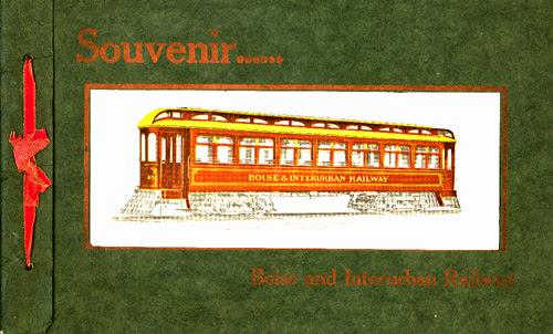 Boise & Interurban Railway car, 1907