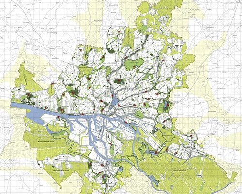 Hamburg's green network (courtesy of Inhabitat)