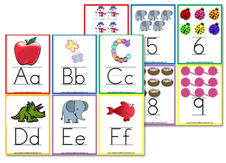 Alphabet Flashcards & Wall Posters - Confessions of a Homeschooler