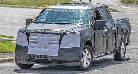 ford    spy shots show  gen truck wearing