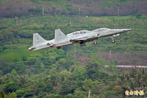 Taiwan será desmantelar su anticuada F-5 en los próximos cinco años.