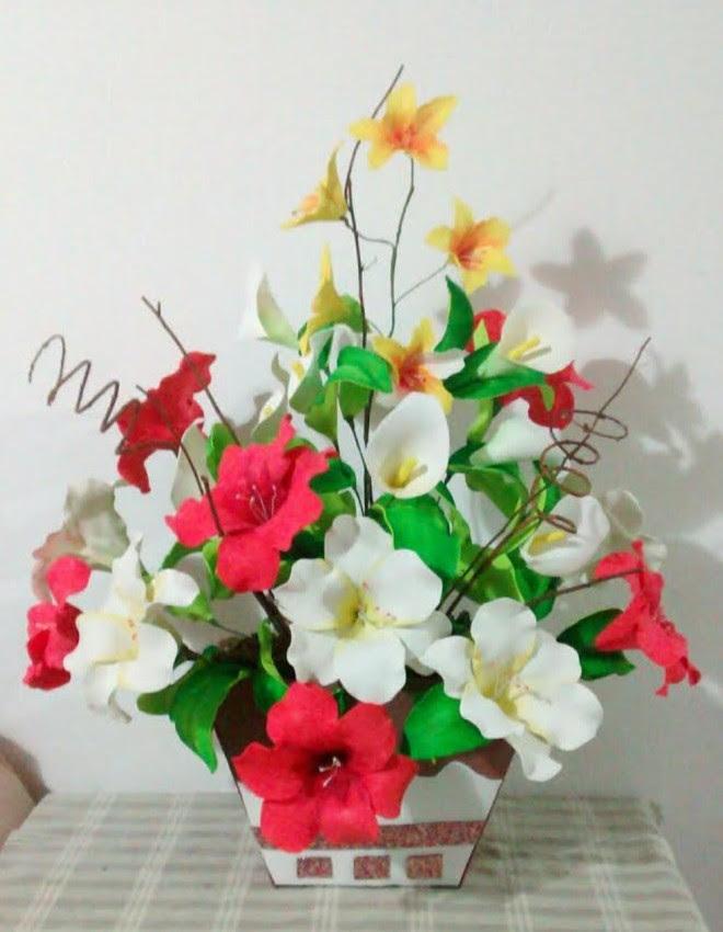 Flores De Eva 54 Ideias E Passo A Passo Para Voce