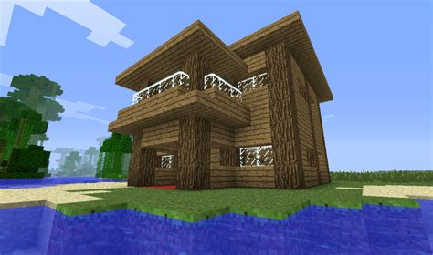 nice minecraft small wooden house edoctorradio designs