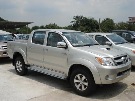 Toyota Hilux Vigo Double Cab 4x4 E at Thailand's top Toyota Hilux Vigo ...