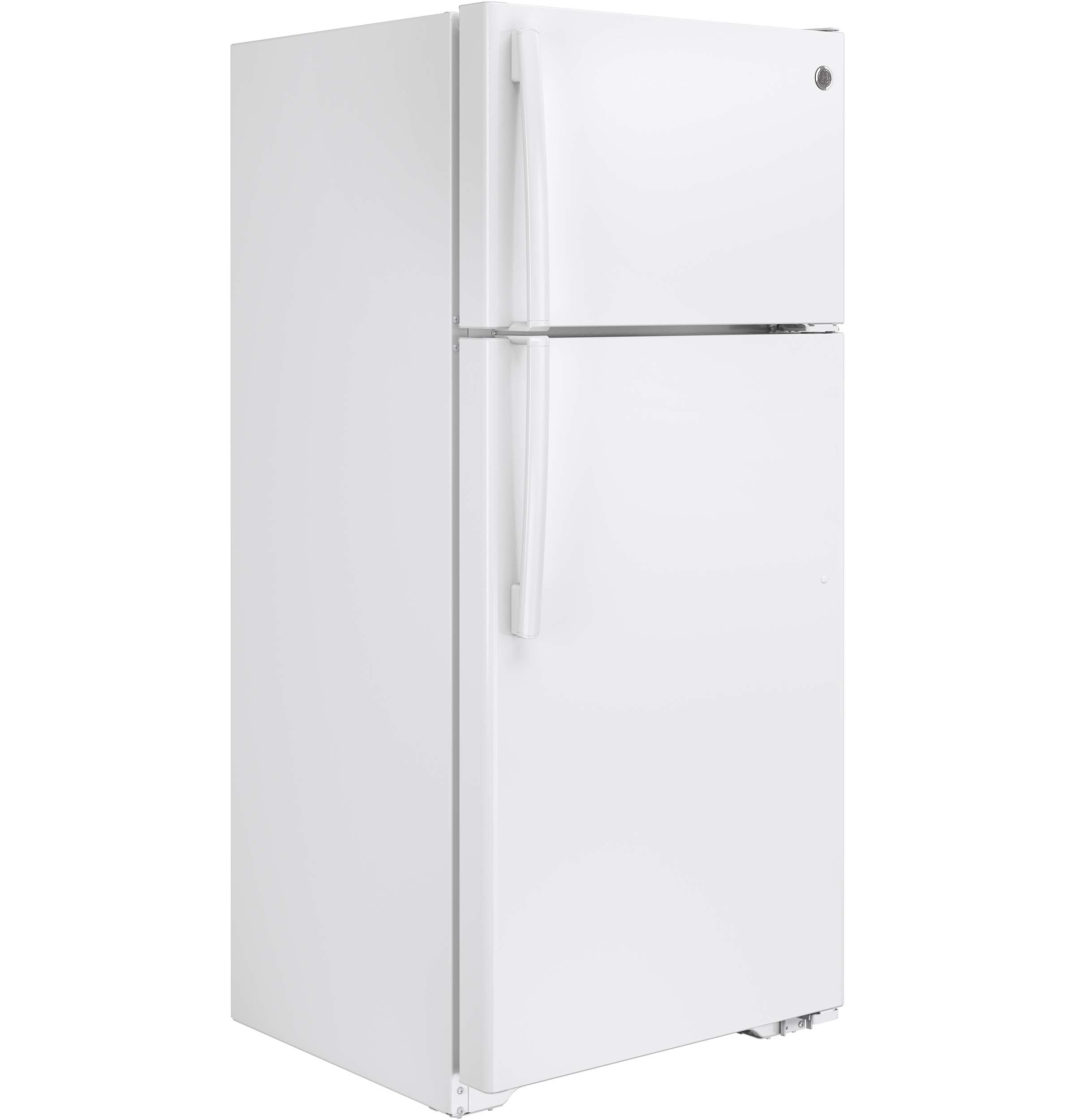 GE 15 5 Cu Ft Top Freezer Refrigerator GTS16DTHWW
