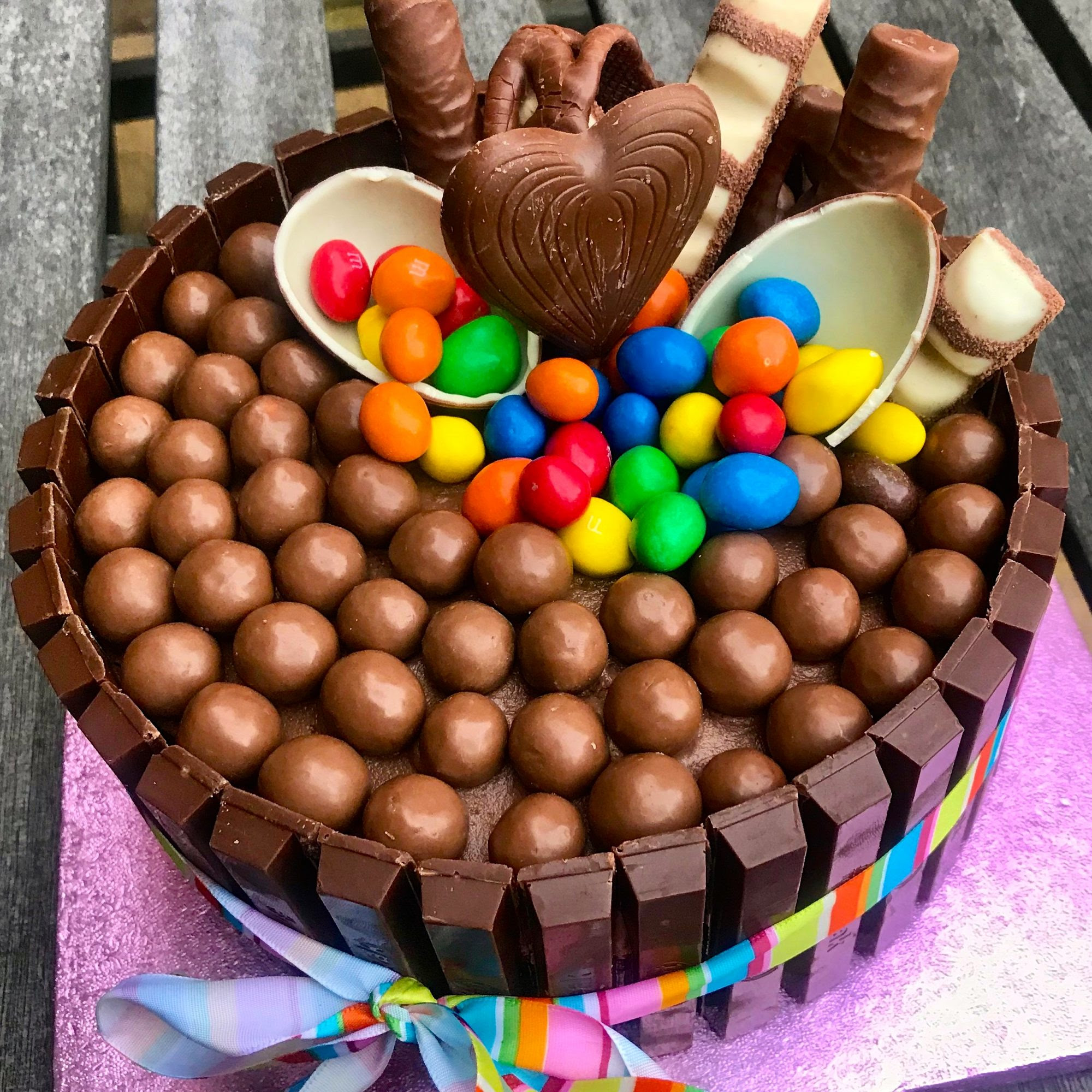 Easy Chocolate Birthday Cake Recipe - Easy Peasy Lemon Squeezy