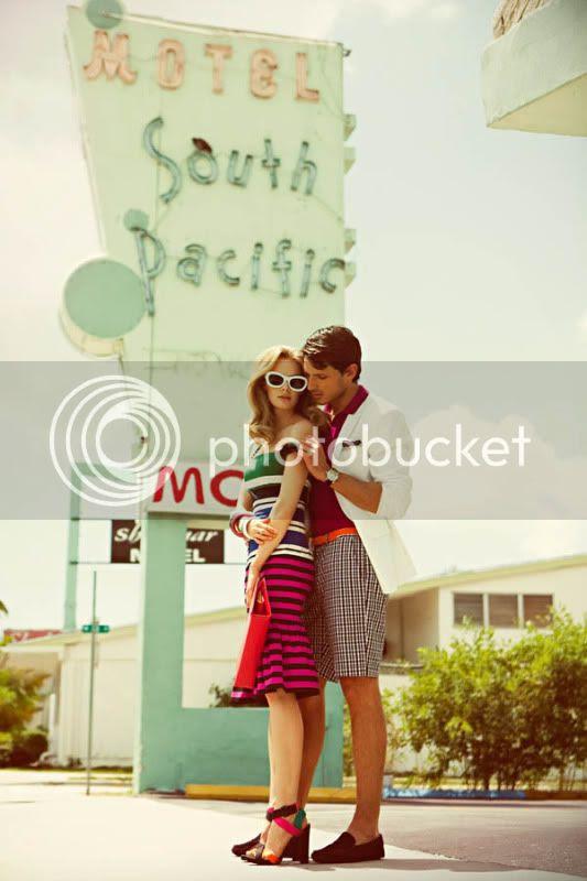 retro spring summer motel clothing