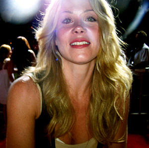 American actress Christina Applegate.
