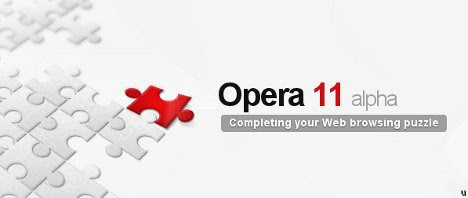 Opera 11 alpha browser now available
