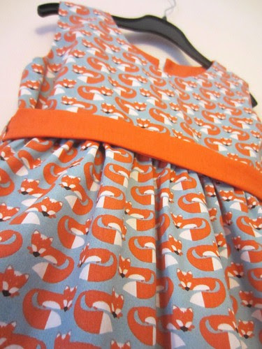 anika party frock detail