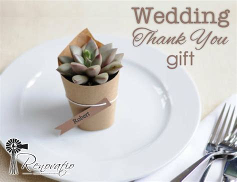Wedding Thank You Gifts