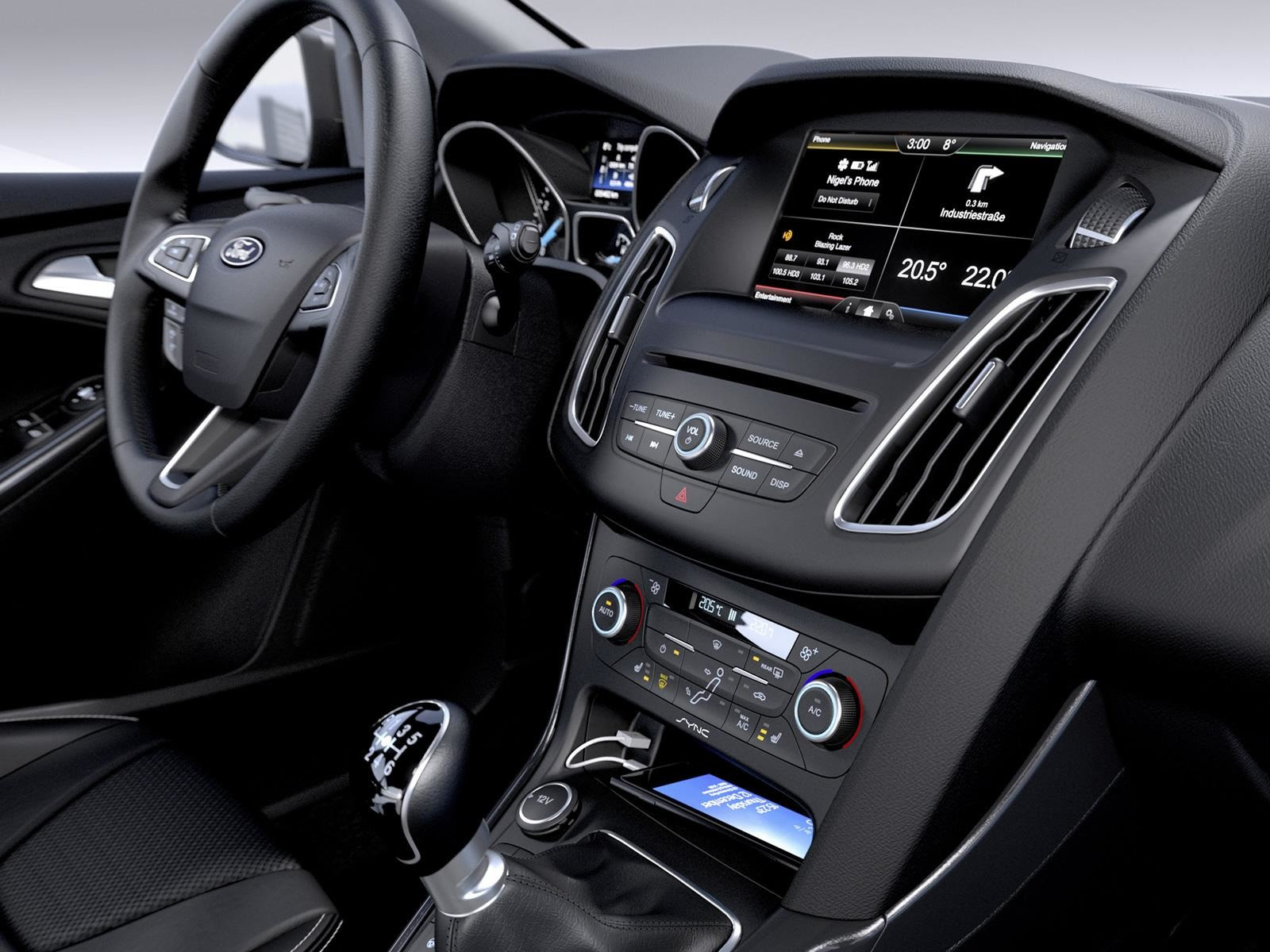 2015 Ford Focus EcoBoost: Manual-Transmission Only