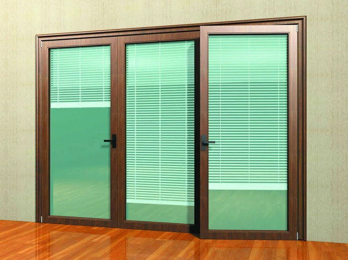 Sliding Glass Door Sliding Glass Door With Blinds In Glass