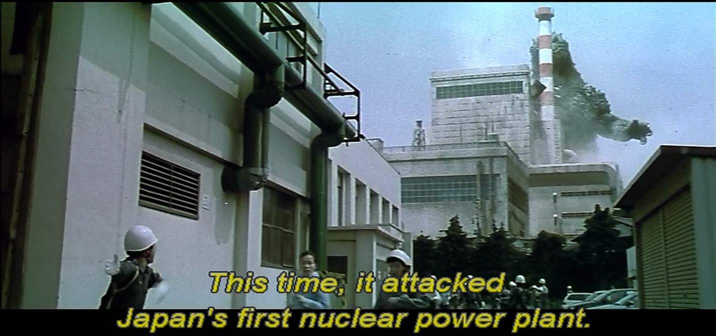 Godzilla is a proactive demonstrator against nuclear energy
