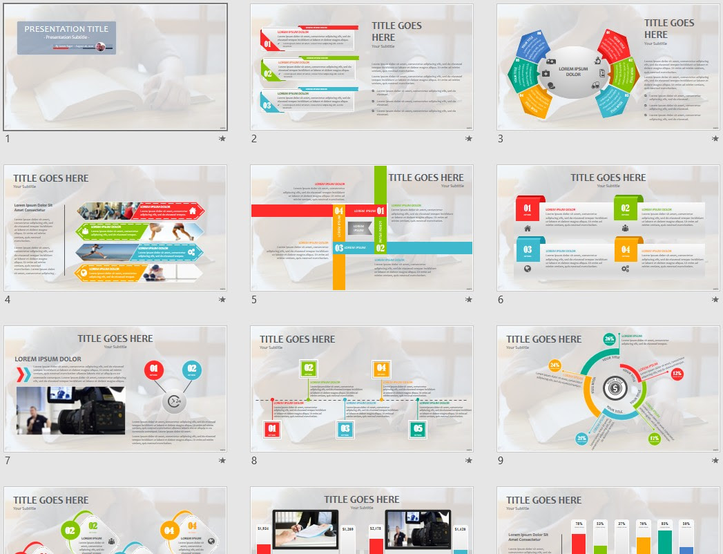 Reading Powerpoint Template 167918