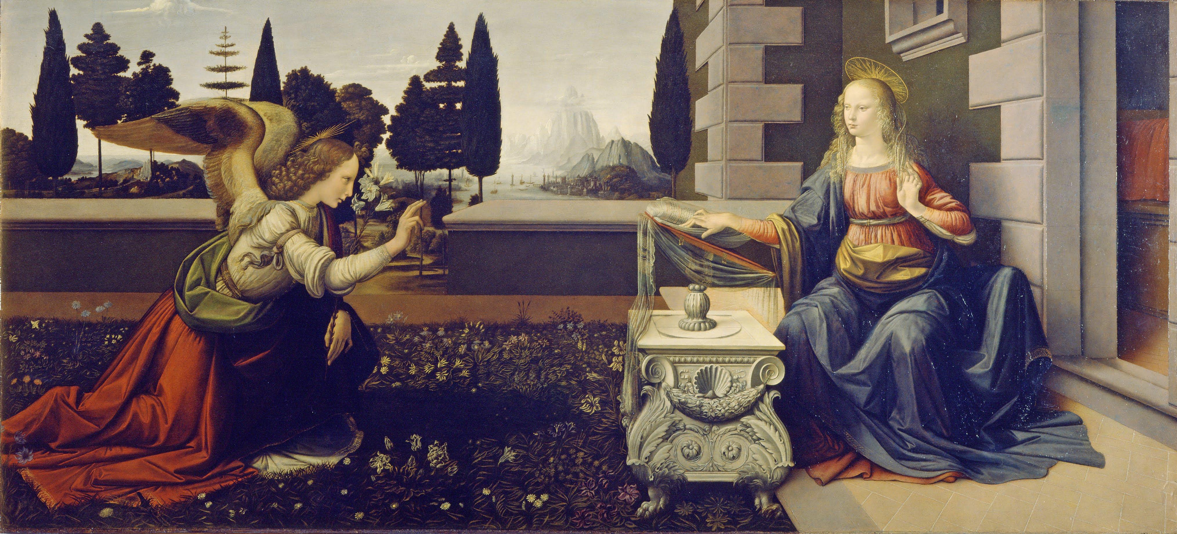 Leonardo da Vinci - Annunciazione - Google Art Project.jpg