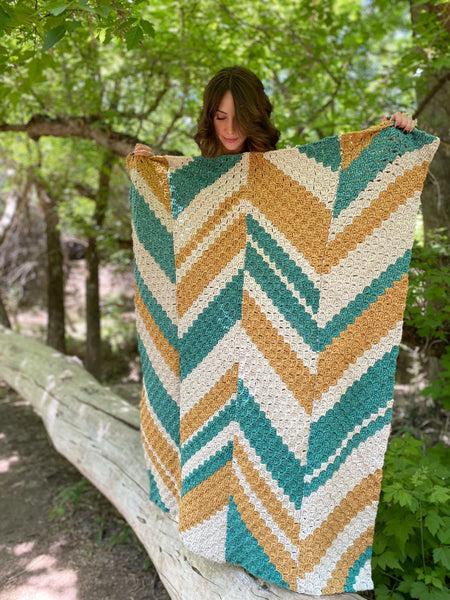 Crochet Kit - The Unwind Throw