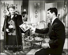 Katie O'Hara Von Luber, aka Katherine Butt-Smith (Ginger Rogers) and Pat O'Toole (Cary Grant)