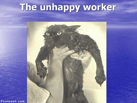 The Unhappy Worker