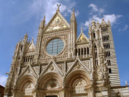 Siena Katedrali ön cephe