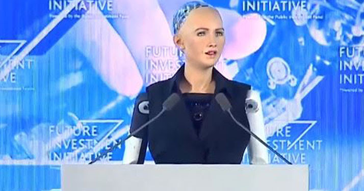 Image result for sophia android robot