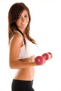 Teen girl loss weight