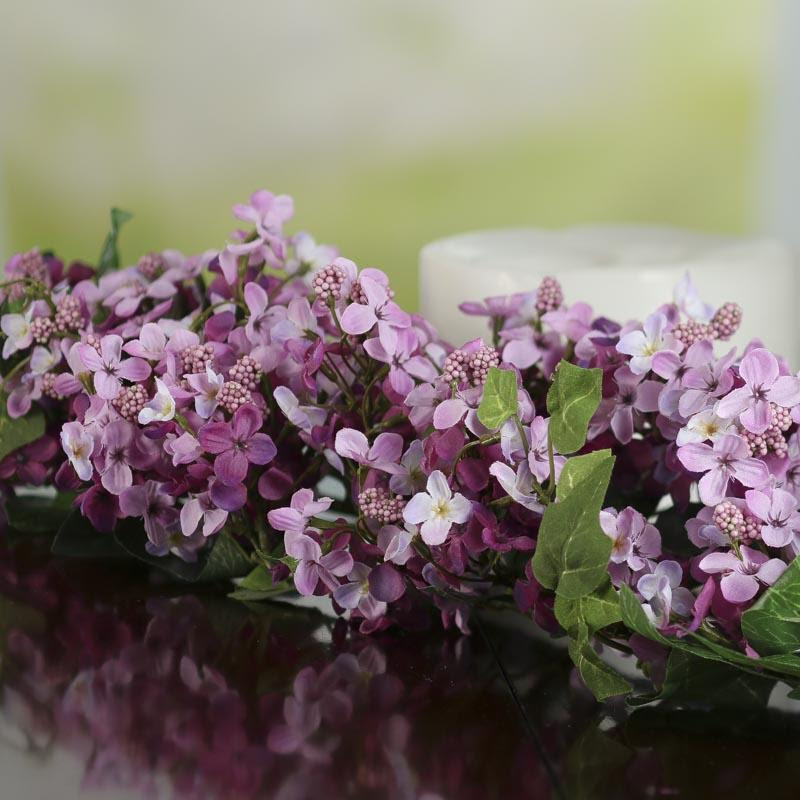 Artificial Lilac Swag  Spring Flowers  Floral Supplies  Craft Supplies