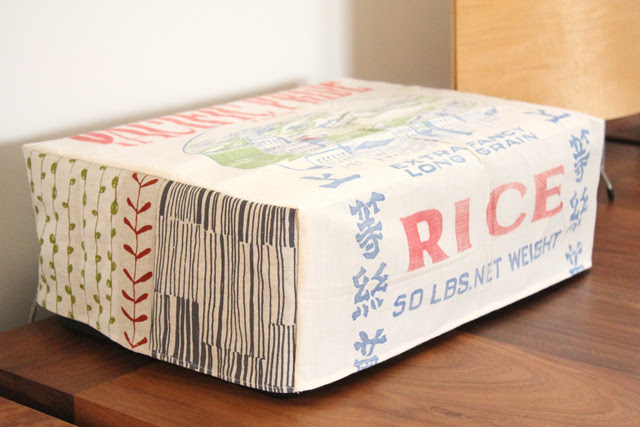 Rice sack cover