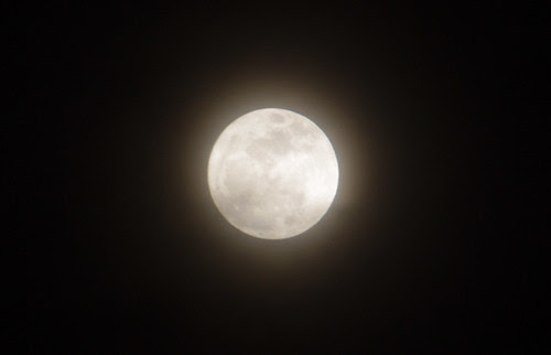 super moon clipping