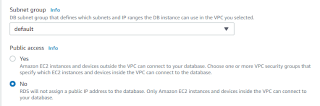 Find AWS RDS Internal IP Address with PowerShell
