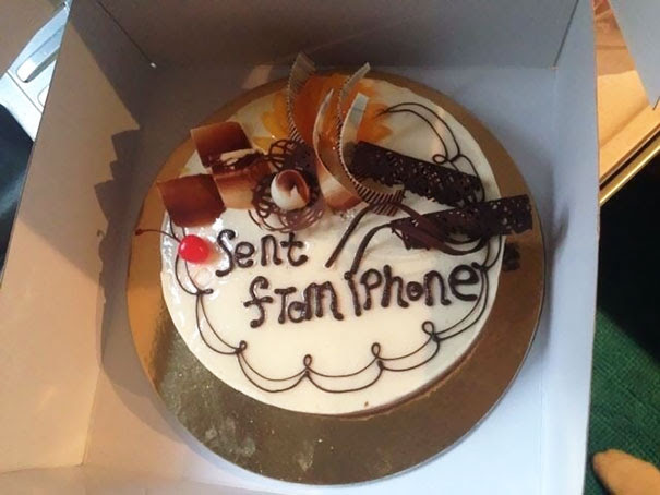 """My Friend In China Ordered A Cake For His Son. He Texted The Bakery The Message To Appear On The Cake - """"Happy 9th Birthday."""" This Is What He Received"""