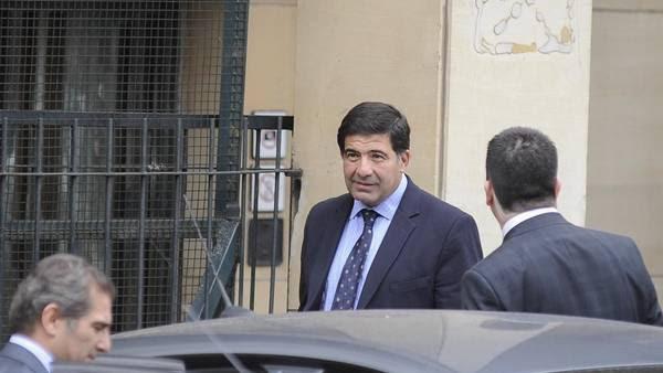 Echegaray comenzó a desfilar por los tribunales de Retiro.